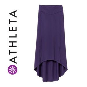 Athleta Thrones Purple Maxi Skirt: Size XS